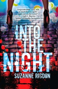 INTO THE NIGHT cover with quote