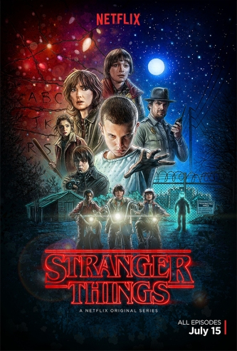 stranger-things Poster